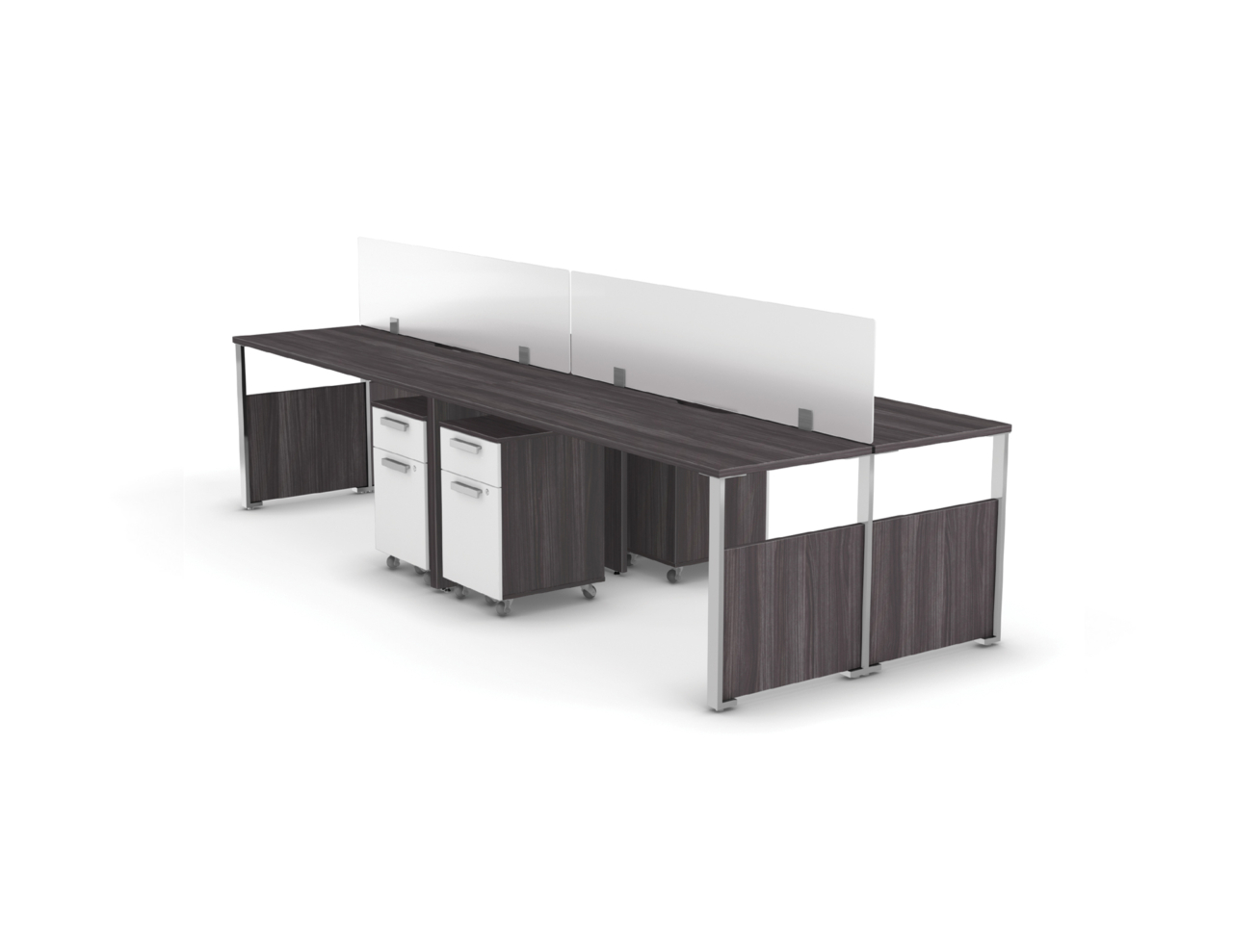 Level benching fb006b logiflex for Mobilier bureau