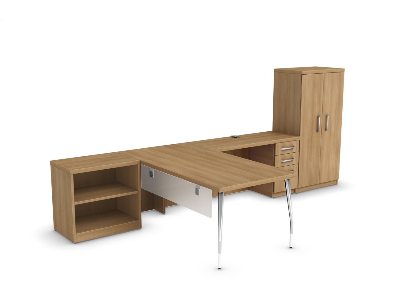 Manhattan c001 fb logiflex for Mobilier bureau 2d