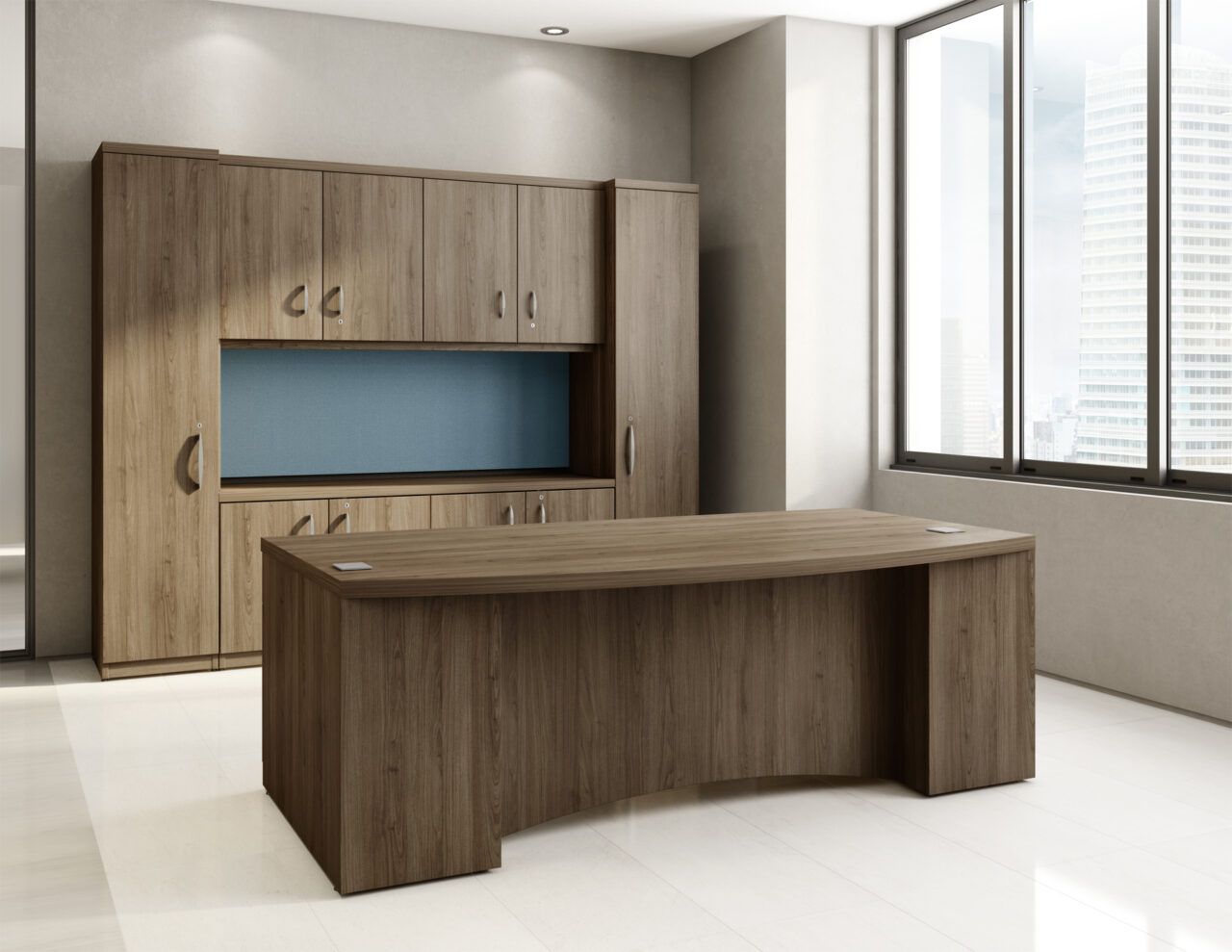 Manhattan c004 logiflex for Mobilier bureau 2d