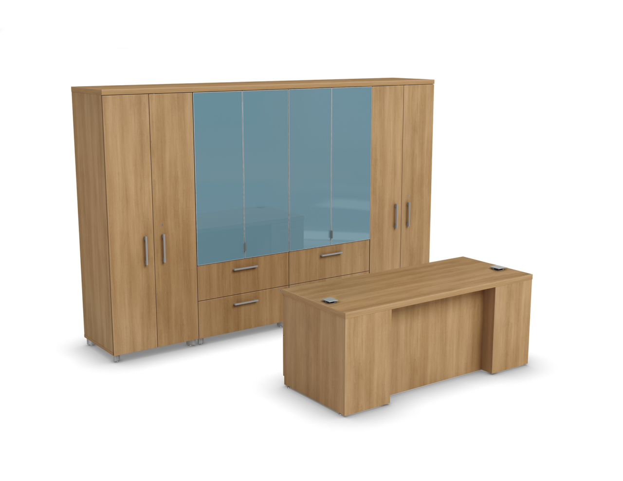 Manhattan c006 fb logiflex for Mobilier bureau 2d
