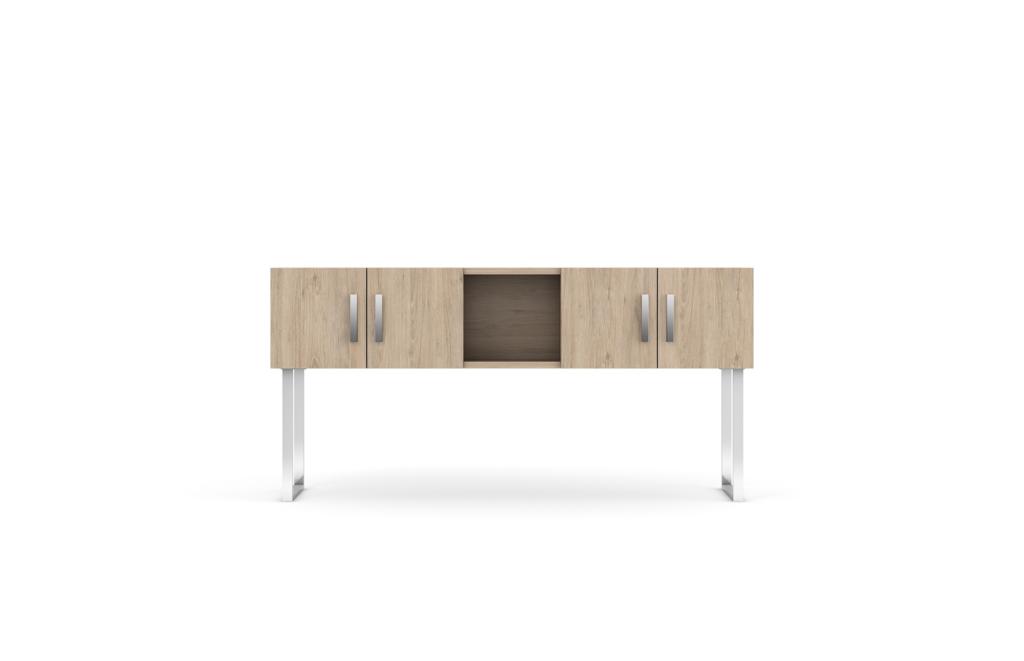 Level Shared Desk Hutch ardb c001 fb