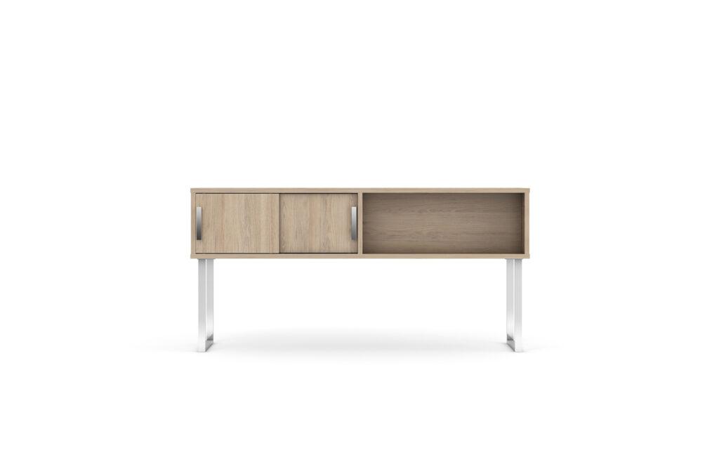 Level Shared Desk Hutch sddb c001 fb