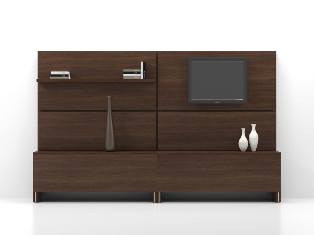 Wall Unit c004 fb
