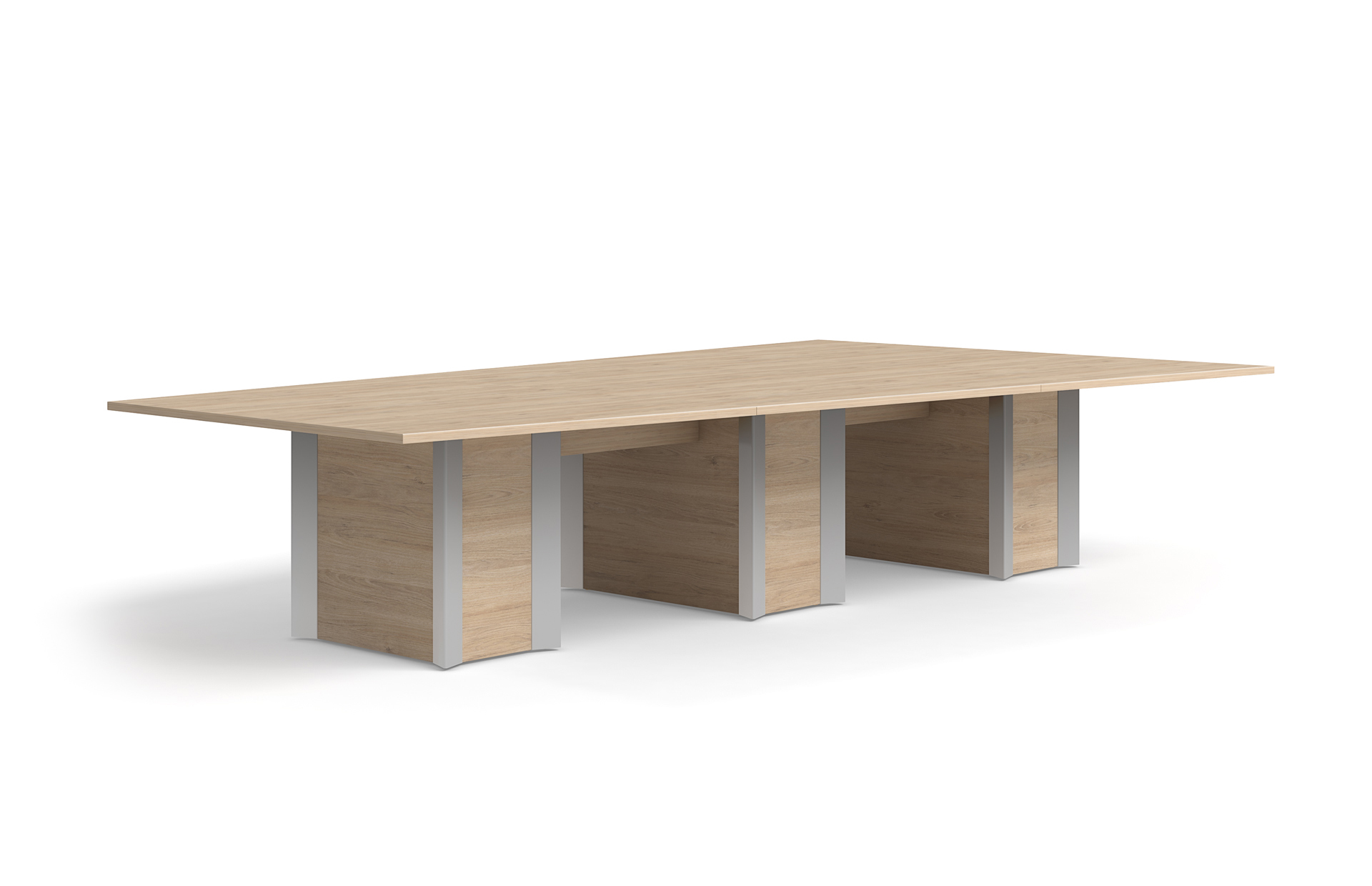 Howard Bases Logiflex - Conference table bases wood