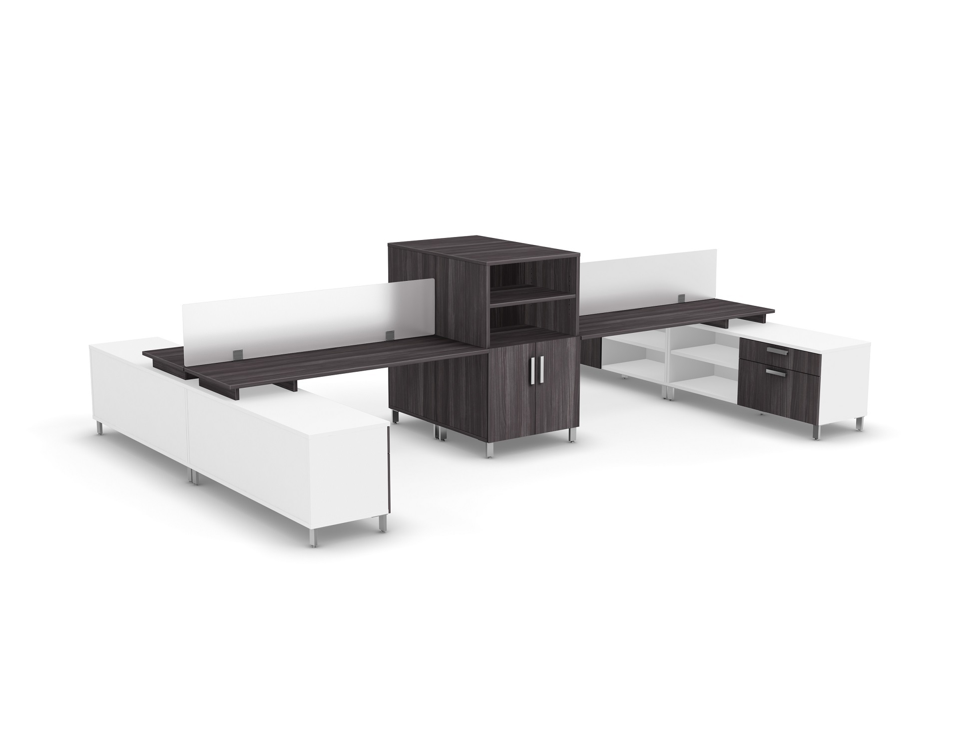 Level benching fb001b logiflex for Mobilier bureau 2d