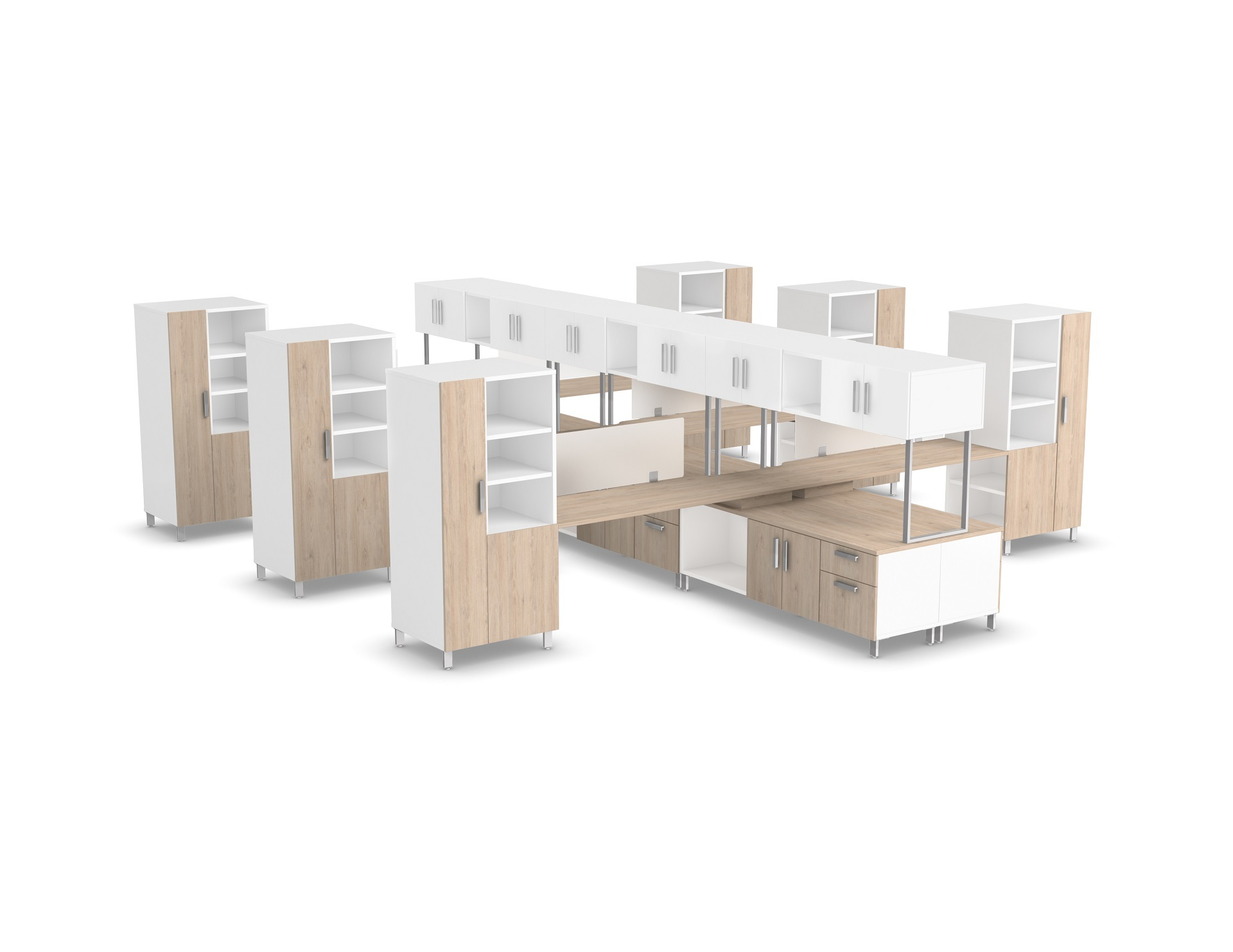 Level focus fb013c logiflex for Mobilier bureau 2d